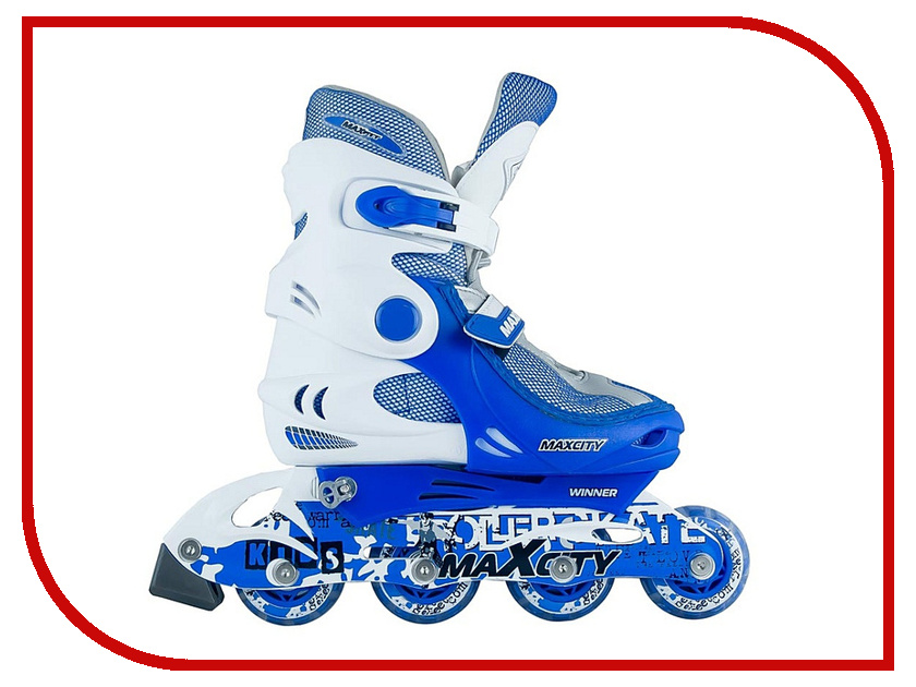 Коньки Maxcity Winner 34-37 Light Blue