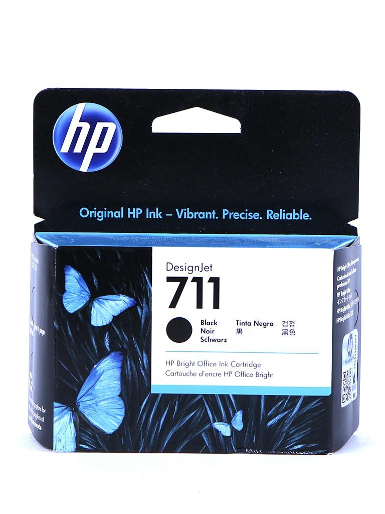 Картридж HP 711 CZ133A 80ml Black все цены