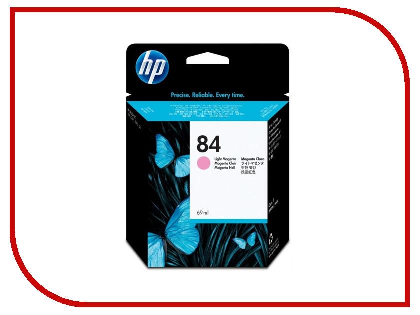 Картридж HP 84 C5018A Light Magenta для DJ 10/20/50ps hewlett packard hp многофункциональная аппаратура для печати копии факса сканирования
