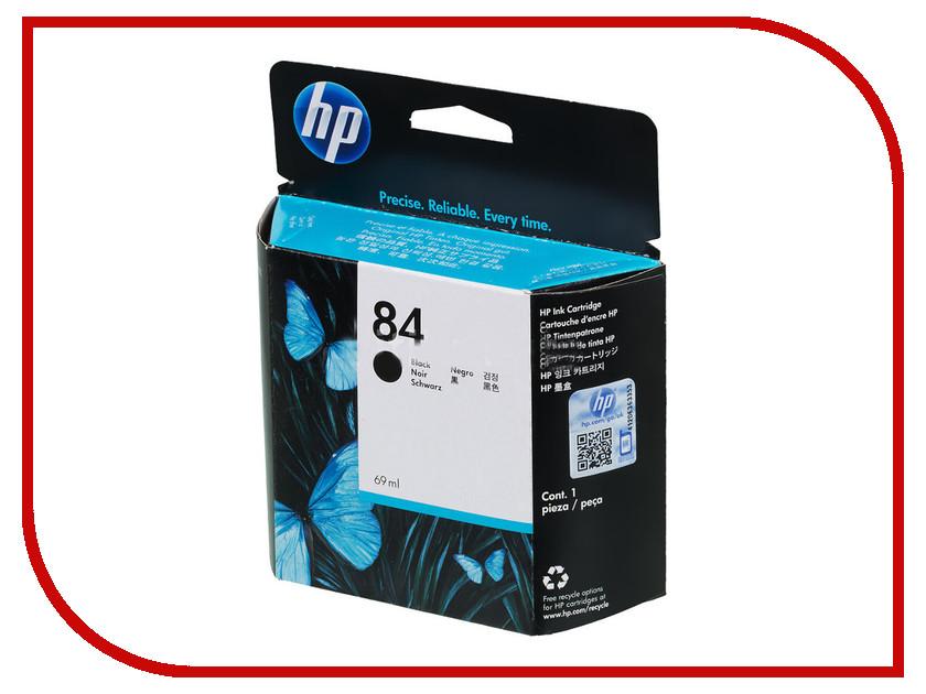 Картридж HP 84 C5016A Black для DJ 10/20/50ps x2 10 p005ur hewlett packard