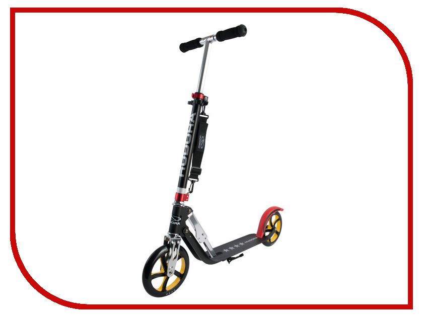 Самокат Hudora Big Wheel RX-Pro 205 Black-Red-Gold ð¼ñ‹ñˆñŒ sven rx 345 wireless red