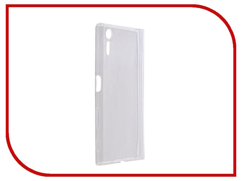 Аксессуар Чехол для Sony Xperia XZ F8332 Gecko Silicone White S-G-SONXZ-WH