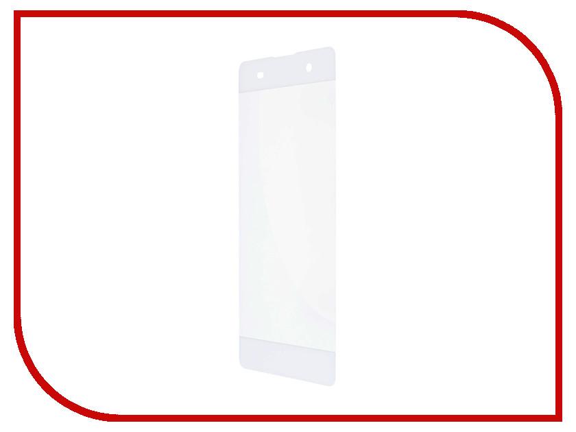 Аксессуар Защитное стекло Sony XA1 Ultra Gecko Full Screen 0.26mm 2D White ZS26-GSONYXA1UL-2D-WH
