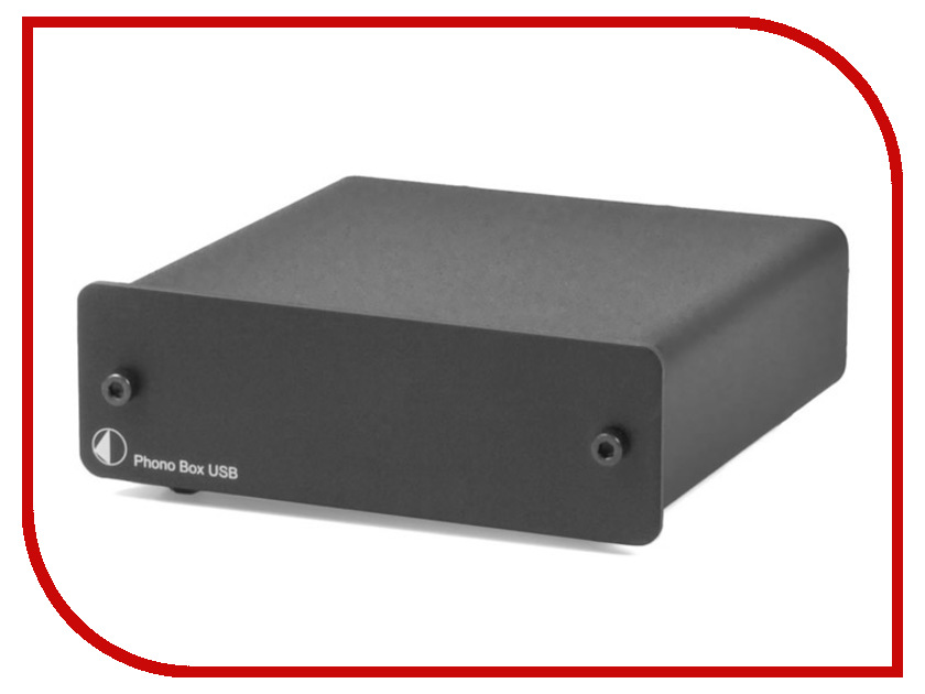 Фонокорректор Pro-Ject ММ/МС Phono Box USB DC Black 00-00002645