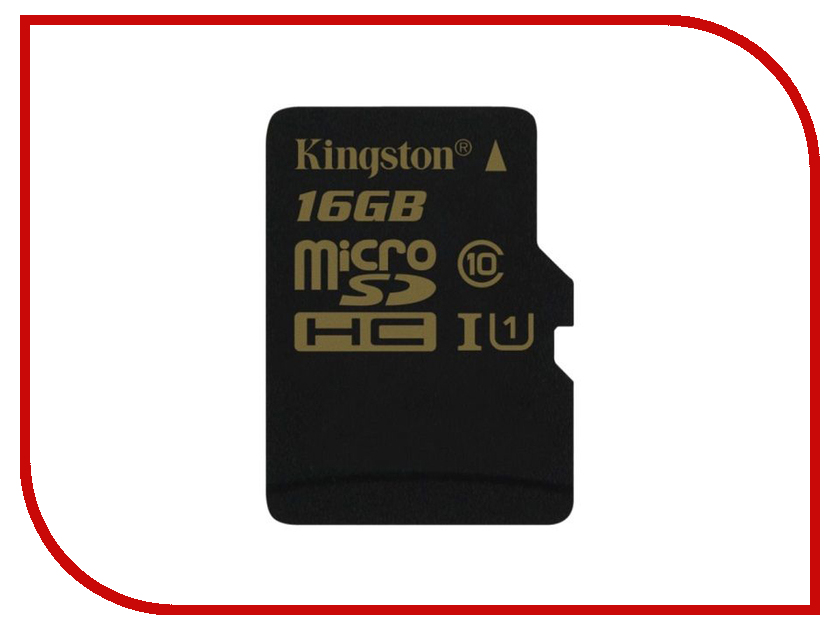 Карта памяти 16Gb - Kingston Class 10 UHS-I U3 MicroSDHC SDCG/16GBSP карта памяти transflash 32гб microsdhc class 10 uhs i u3 90r 45w kingston canvas go