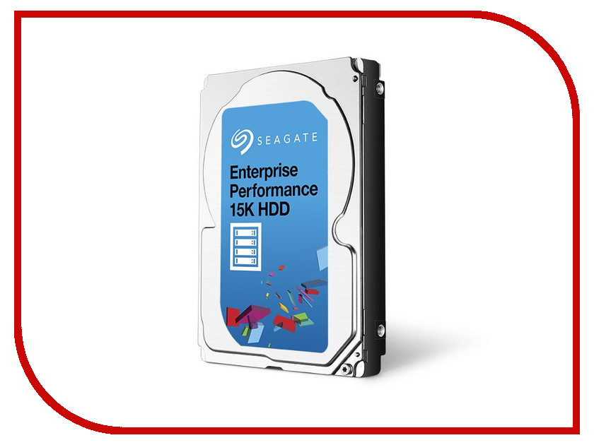 Жесткий диск 600Gb - Seagate Enterprise Performance ST600MP0006 жесткий диск 5tb seagate enterprise capacity 3 5 hdd st5000nm0024