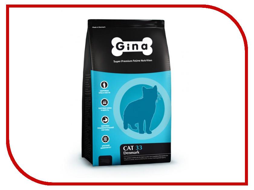 Корм Gina Cat-33 Denmark 3kg 080020.1 корм gina puppy hypoallergenic denmark 3kg 080018 1