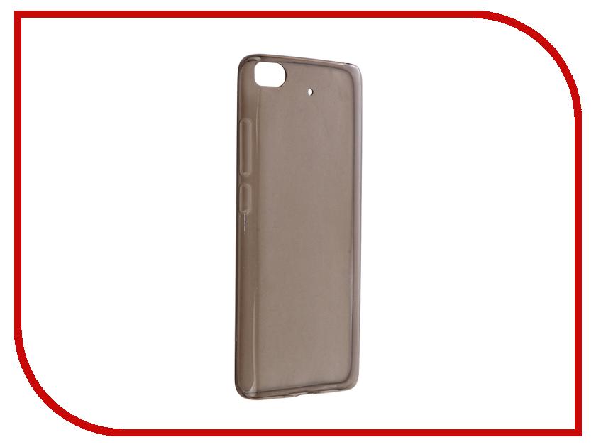 Аксессуар Чехол Xiaomi Mi5s Cojess Silicone TPU 0.5mm Grey аксессуар чехол microsoft lumia 650 cojess tpu 0 3mm grey