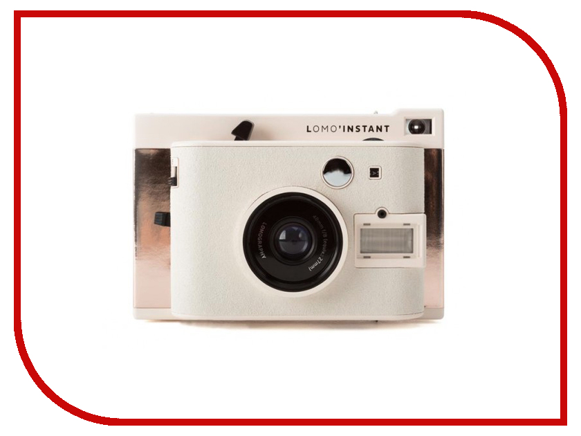 Фотоаппарат Lomography LomoInstant Mumbai + 3 Lenses LI800 Copper