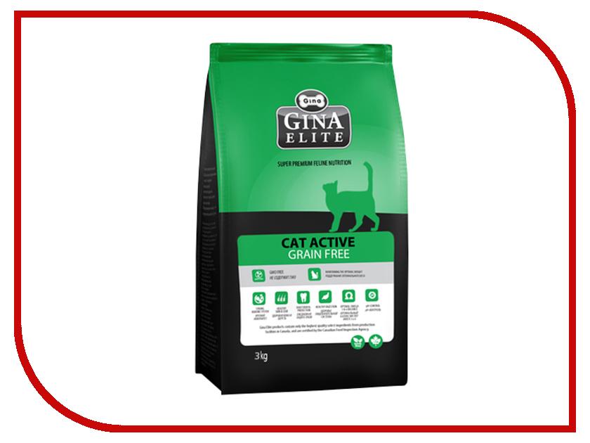 Корм Gina Elite Grain Free Cat 3kg 160018.2