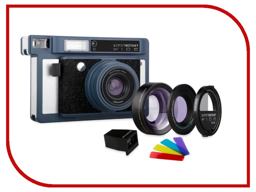 Фотоаппарат Lomography LomoInstant Wide Combo Victoria Peak LI900VP