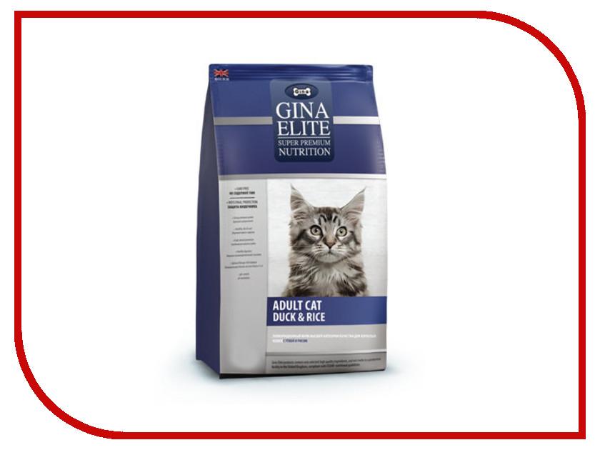 Корм Gina Elite Cat Duck&Rice 3kg 250000.4