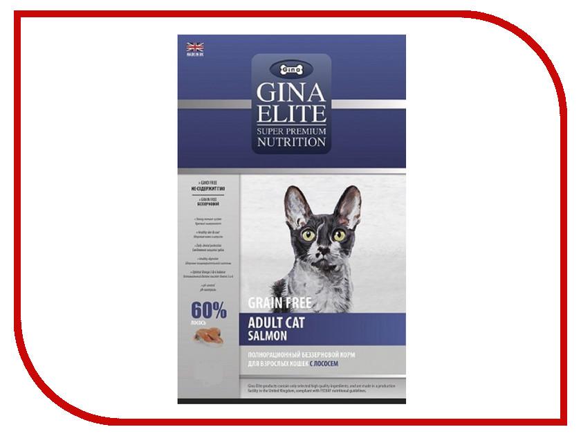 Корм Gina Elite GF Cat Salmon 1kg 250008.4