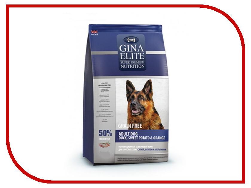 Корм Gina Elite GF Dog Duck,Sweet Potato,Orange 12kg 250007.2