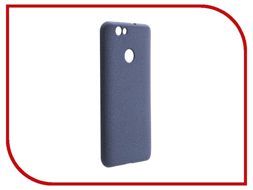 Аксессуар Чехол Huawei Nova Zibelino Soft Matte Dark Blue ZSM-HUA-NOVA-DBL аксессуар чехол huawei p9 lite zibelino soft matte zsm hua p9 lit
