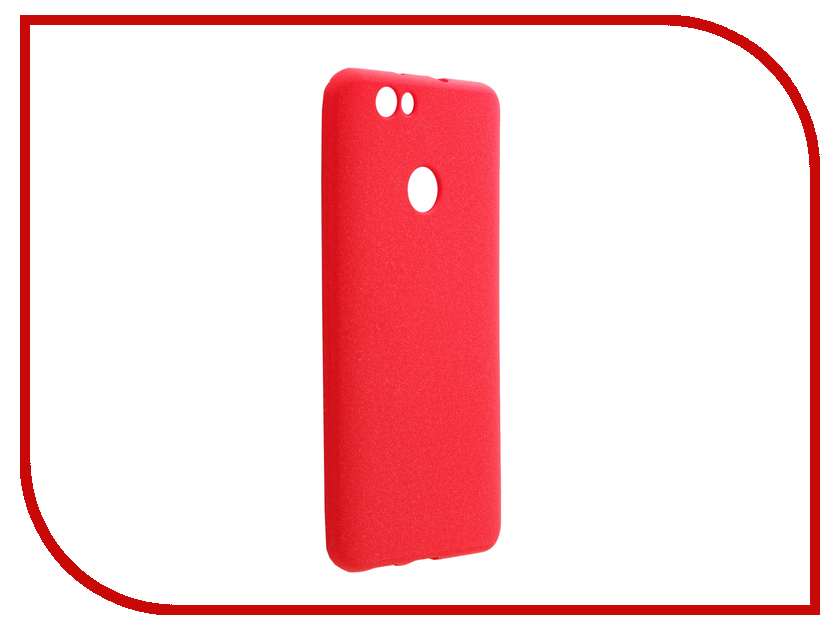 Аксессуар Чехол Huawei Nova Zibelino Soft Matte Red ZSM-HUA-NOVA-RED аксессуар чехол huawei nova zibelino classico white zcl hua nov wht