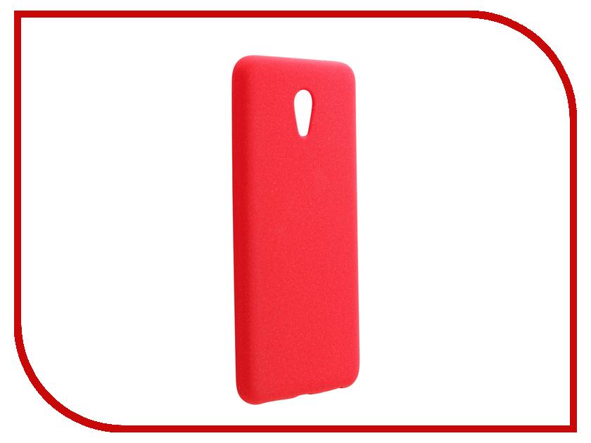 Аксессуар Чехол Meizu M5 Note Zibelino Soft Matte Red ZSM-MEZ-M5-NOT-RED аксессуар чехол meizu m5 zibelino classico black zcl mz m5 blk