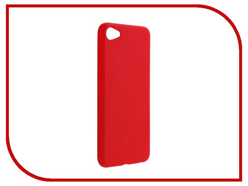Аксессуар Чехол Meizu U10 Zibelino Soft Matte Red ZSM-MEZ-U10-RED
