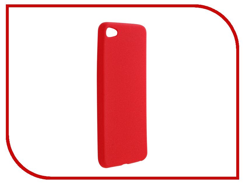 Аксессуар Чехол Meizu U20 Zibelino Soft Matte Red ZSM-MEZ-U20-RED смартфон meizu u20 32 gb rose gold white