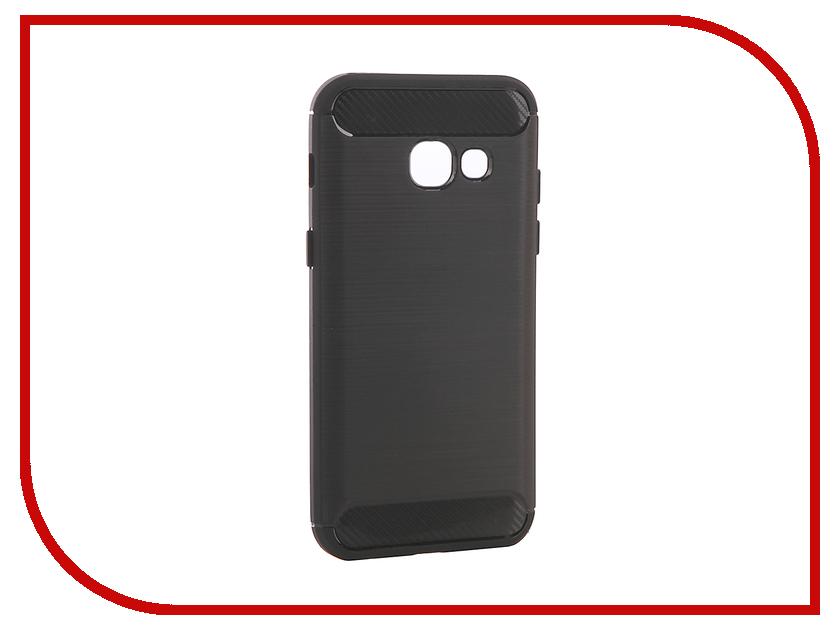 Аксессуар Чехол Samsung Galaxy A3 2017 A320F Zibelino Soft Matte Black ZSM-SAM-A320F-BLK аксессуар чехол samsung galaxy a3 2017 cojess tpu 0 3mm transparent