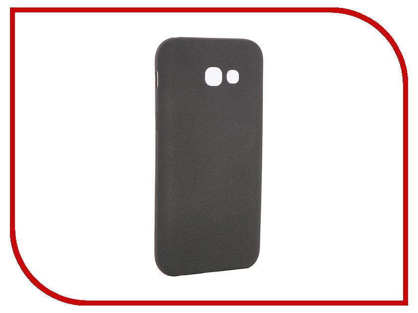 Аксессуар Чехол для Samsung Galaxy A5 2017 A520F Zibelino Soft Matte Black ZSM-SAM-A520F-BLK чехол для samsung galaxy a5 2017 sm a520f gecko силиконовая накладка прозрачно глянцевая красная