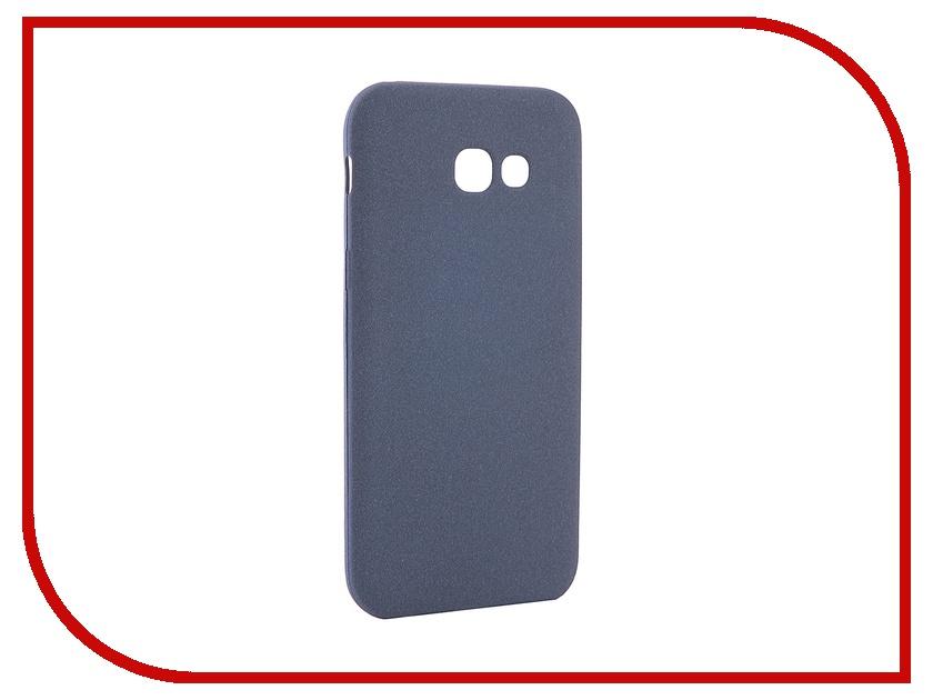 Аксессуар Чехол для Samsung Galaxy A5 2017 A520F Zibelino Soft Matte Dark Blue ZSM-SAM-A520F-DBL аксессуар чехол samsung galaxy a5 2017 sm a520f zibelino ultra thin case extra white zutce sam a520f wht