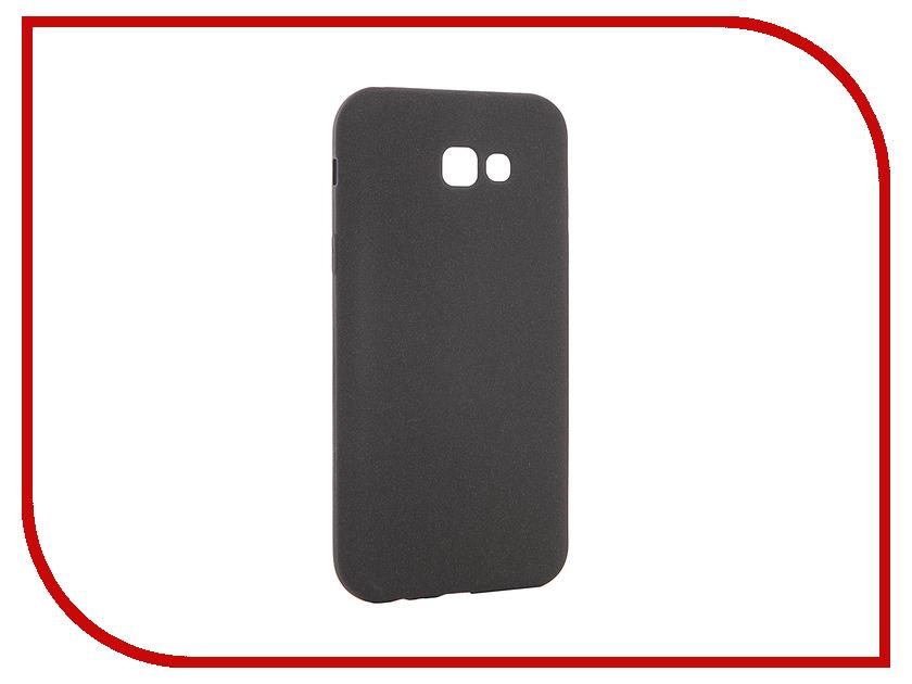 Аксессуар Чехол для Samsung Galaxy A7 2017 A720F Zibelino Soft Matte Black ZSM-SAM-A720F-BLK fashionable protective bumper frame case with bowknot for samsung galaxy s3 i9300 black