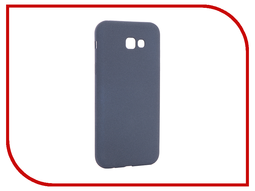 Аксессуар Чехол для Samsung Galaxy A7 2017 A720F Zibelino Soft Matte Dark Blue ZSM-SAM-A720F-DBL