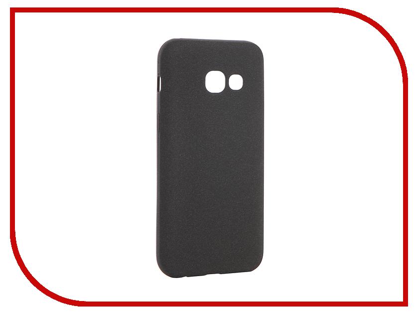 Аксессуар Чехол Samsung Galaxy A3 2017 A320F Zibelino Cover Back Elegant Black ZCBE-SAM-A320F-BLK аксессуар чехол samsung galaxy a3 2017 cojess tpu 0 3mm transparent