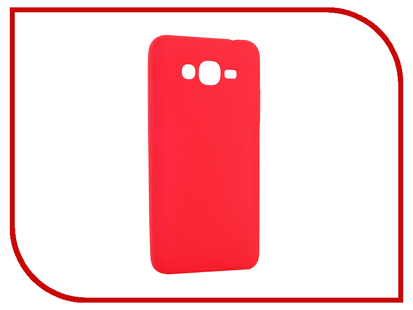 Аксессуар Чехол Samsung SM-G532F/DS Galaxy J2 Prime Zibelino Soft Matte Red ZSM-SAM-J2-PRM-RED samsung j2 prime sm g532f ds 4g 8gb gold