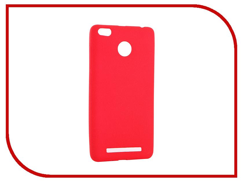 Аксессуар Чехол Xiaomi Redmi 3 / 3S / 3 PRO Zibelino Soft Matte Red ZSM-XIA-RDM-3S-RED аксессуар чехол xiaomi redmi pro zibelino classico black zcl xia pro blk