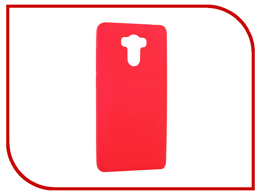 Аксессуар Чехол Xiaomi Redmi 4 / 4 Prime Zibelino Soft Matte Red ZSM-XIA-RDM4-RED<br>