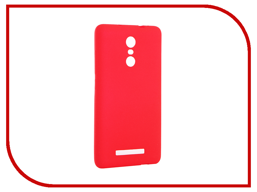 Аксессуар Чехол Xiaomi Redmi Note 3 / Note 3 Pro Zibelino Soft Matte Red ZSM-XIA-RDM-NOT3-RED аксессуар чехол xiaomi redmi note 4 zibelino classico black zcl xia not4 blk