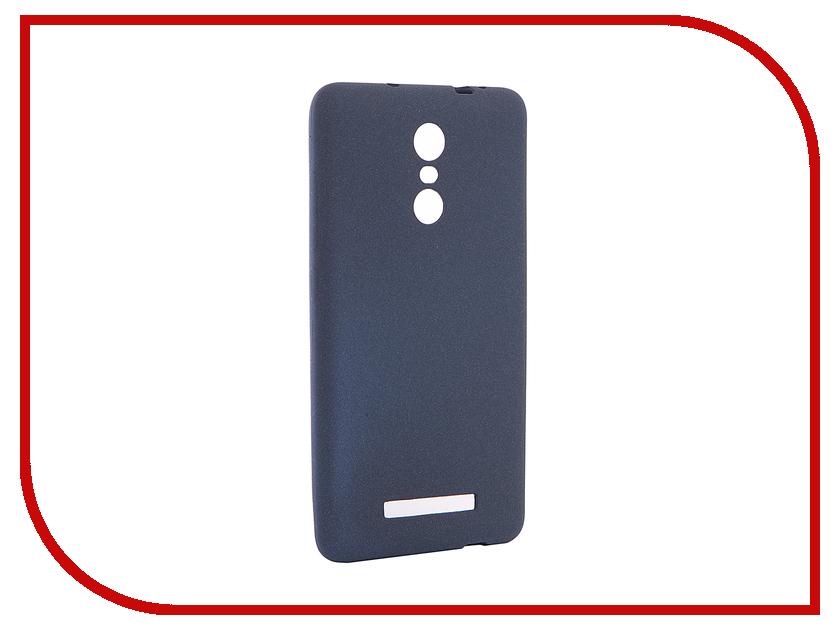 Аксессуар Чехол Xiaomi Redmi Note 3 / Note 3 Pro Zibelino Soft Matte Dark Blue ZSM-XIA-RDM-NOT3-DBL xiaomi redmi note 3