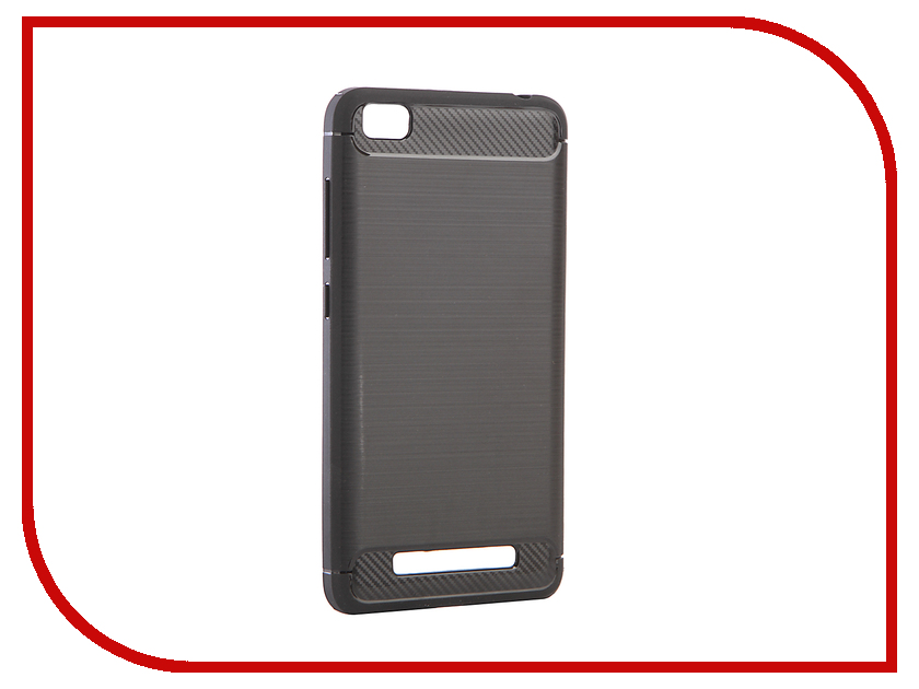 Аксессуар Чехол Xiaomi Redmi 4A Zibelino Cover Back Elegant Black ZCBE-XIA-RDM-4A-BLK