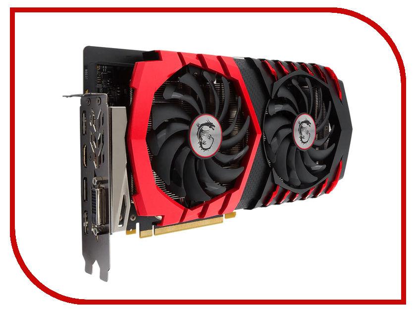 Видеокарта MSI GeForce GTX 1060 1594Mhz PCI-E 3.0 6144Mb 9126Mhz 192 bit DVI HDMI HDCP GTX 1060 GAMING X+ 6G