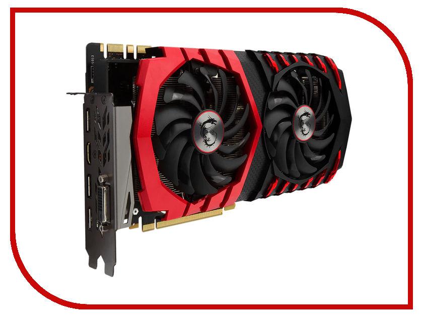 Видеокарта MSI GeForce GTX 1080 1607Mhz PCI-E 3.0 8192Mb 11010Mhz 256 bit DVI HDMI HDCP GTX 1080 GAMING X+ 8G