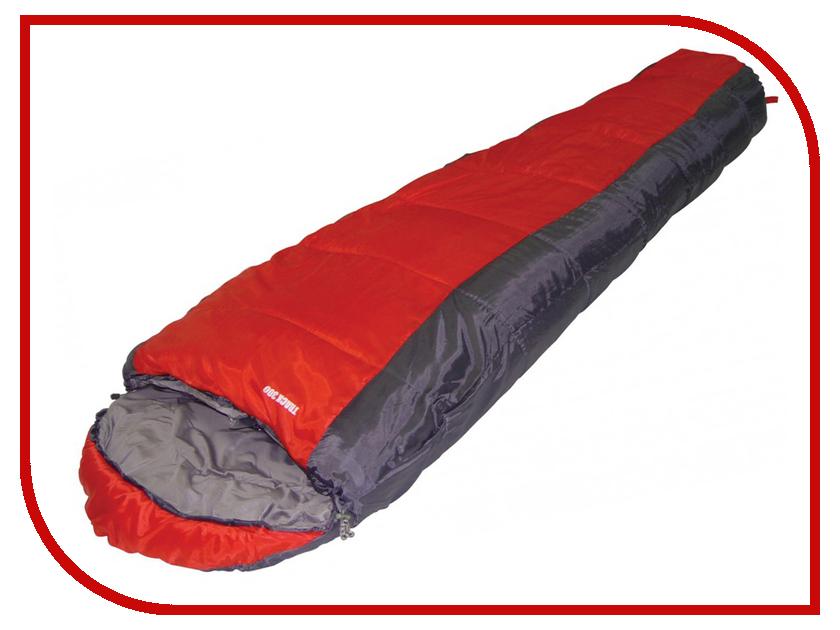 Cпальный мешок Trek Planet Track 300 JR Grey-Red 70325 R