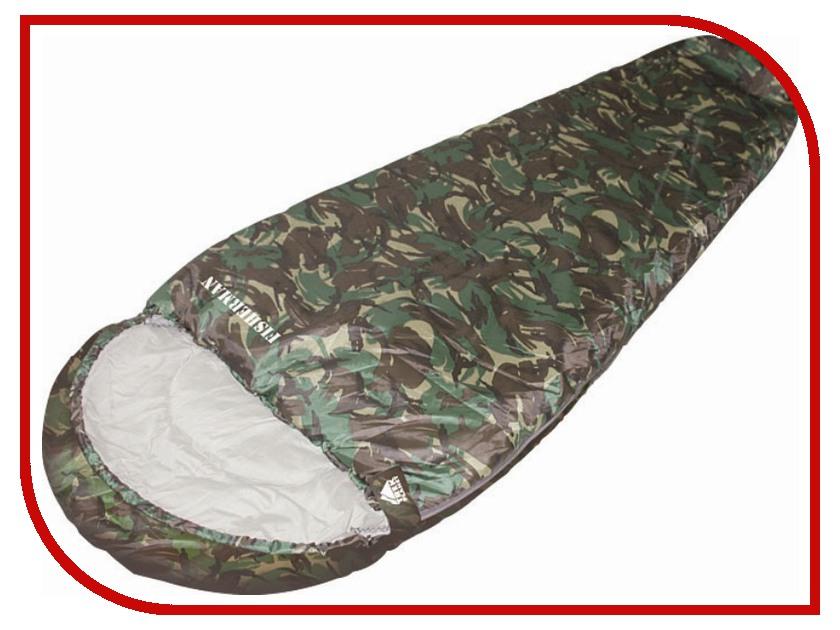 Cпальный мешок Trek Planet Fisherman Camouflage 70322 R cпальный мешок high peak pak 1600 23310
