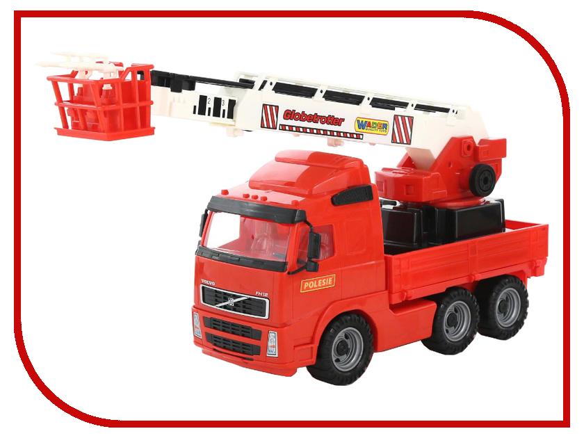 Машина Полесье Пожарный 8787 автомобиль пожарный полесье volvo в сеточке 8787