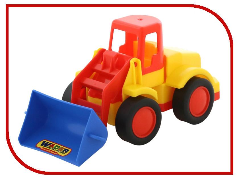 Машина Полесье Базик погрузчик 37619 машина детская полесье полесье набор автомобиль трейлер трактор погрузчик