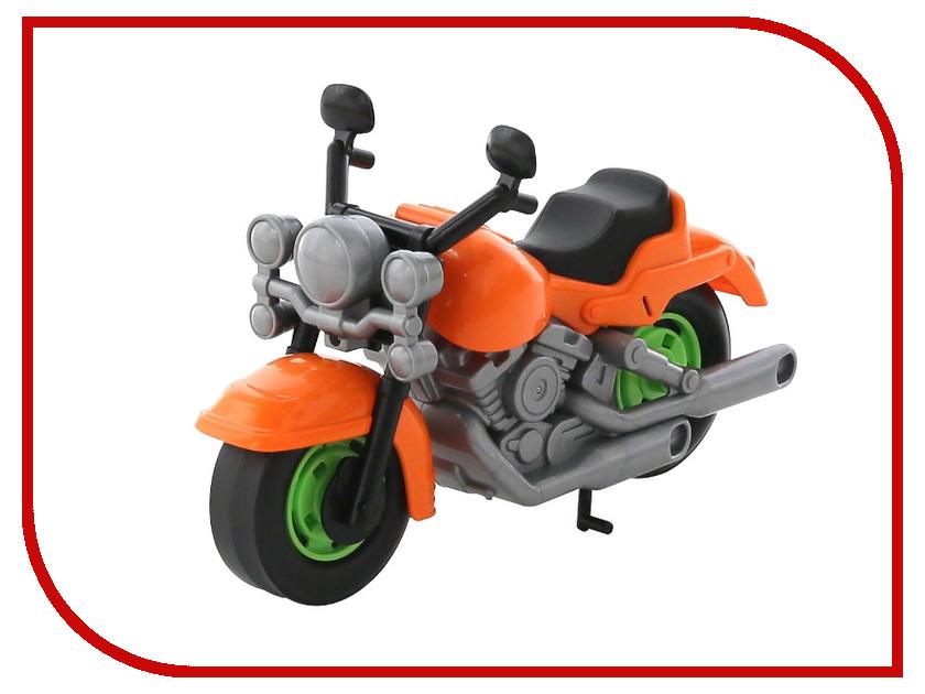 Игрушка Полесье Мотоцикл гоночный Кросс 6232 plastic toy мотоцикл заводной гоночный