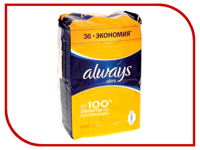 Always Ultra Light Quatro AL-83734556 36шт