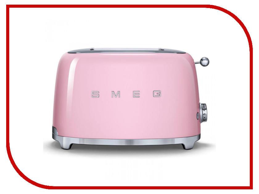 Тостер Smeg TSF01PKEU тостер smeg tsf 01 creu кремовый