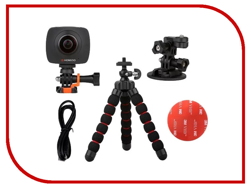 Экшн-камера HOMIDO Cam 360 homido mini