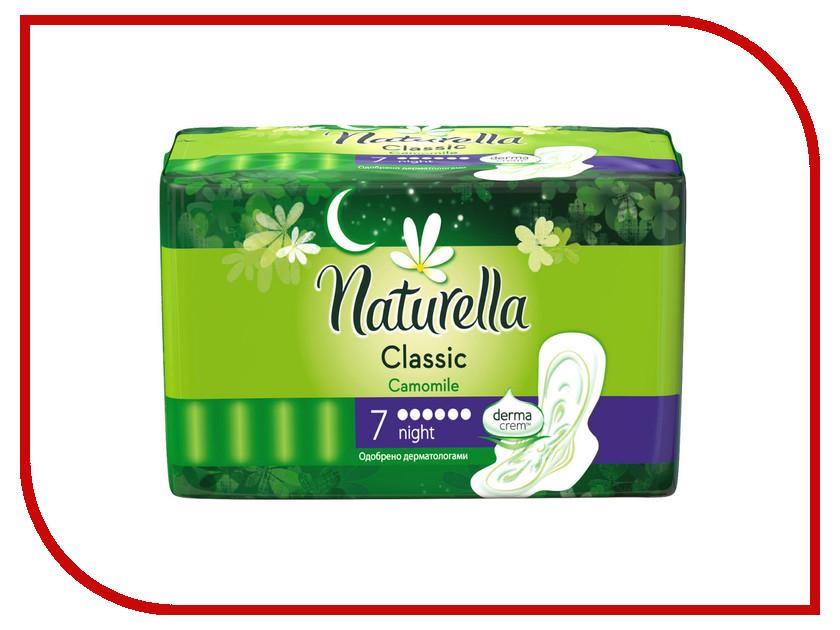Naturella Classic Camomile Night Single NT-83734737 7шт naturella ежедневные camomile normal single nt 83730610 20шт