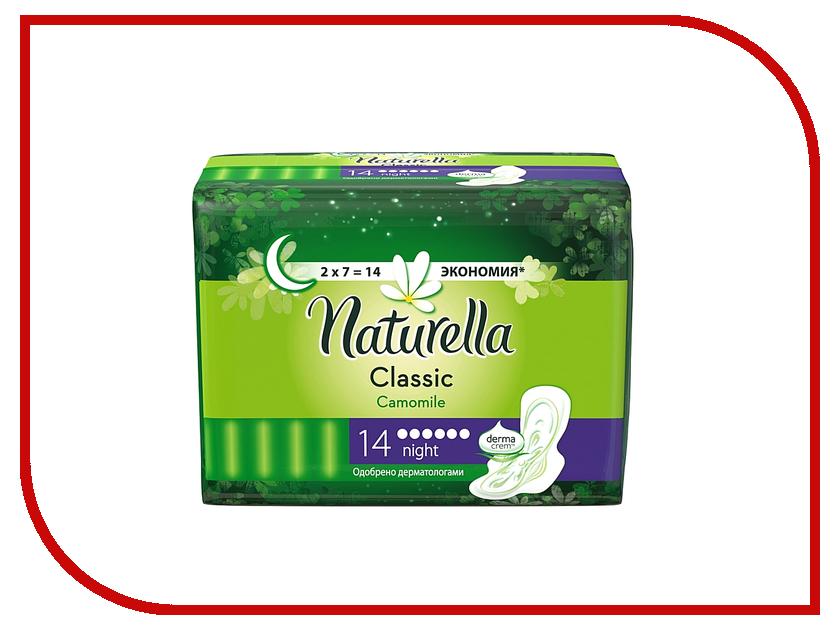 Naturella Classic Camomile Night Duo NT-83731373 14шт naturella ежедневные camomile normal single nt 83730610 20шт