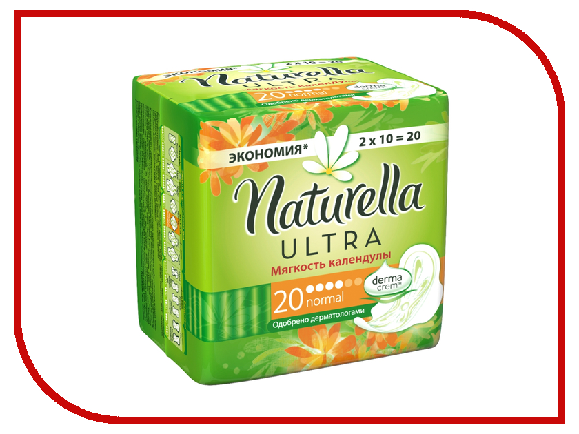 Naturella Ultra Мягкость Календулы Normal Deo Duo NT-83734597 20шт