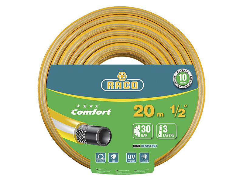 Фото - Шланг Raco Comfort 1/2x20m 40303-1/2-20 шланг raco expert 1 2x50m 40302 1 2 50