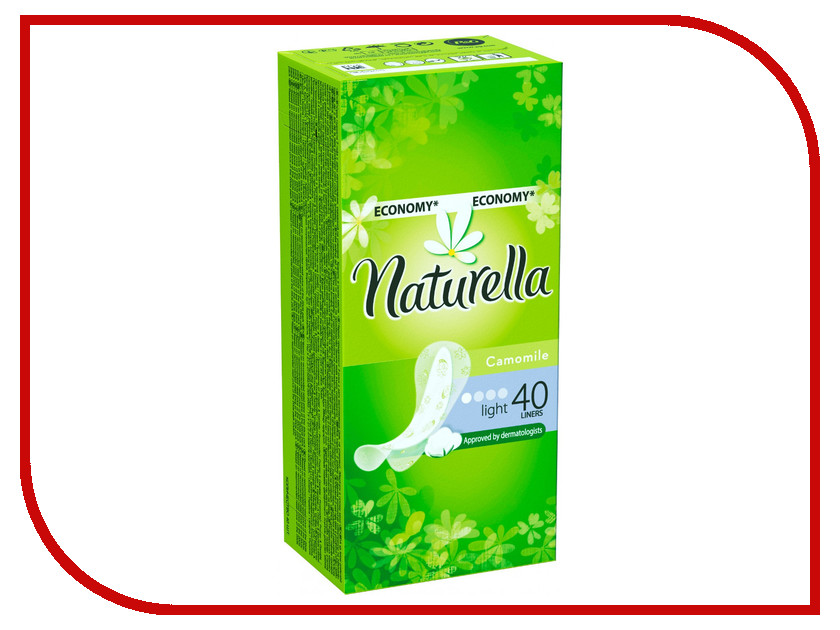 Naturella Ежедневные Camomile Light Duo NT-83731076 40шт